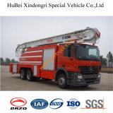 10ton 벤츠 거품 공중 구조 트럭 Euro3