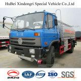 camion del serbatoio dell'olio della benzina della benzina dell'euro 4 di 10cbm Dongfeng con Cummins Engine