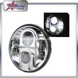 7 بوصة مستديرة [لد] مصباح أماميّ لأنّ عربة جيب درّاجة ناريّة [80و] حزمة موجية عادية منخفضة