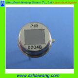 Sensor van de Motie PIR van Pyroelectric van het element de Infrarode Radiale (D204B)