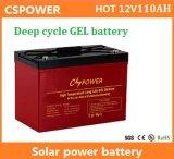 batteria profonda del gel del ciclo di 12V 110ah per memoria solare