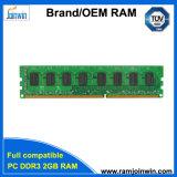 Ecc 128MB*8 van de Garantie van het leven niet RAM DDR3 2GB voor Desktop
