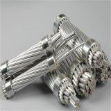 電気ケーブルのAcsの木のドラムのアルミニウム覆われた鋼鉄繊維ワイヤー