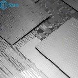 304 201 430 3D 3D Foshan miroir en acier inoxydable de gaufrage de perforation des feuilles de décoration