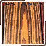 2*8 folheado de madeira de ébano projetado para madeira contraplacada de fantasia