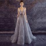 Reizvolle Spitze-Tulle-Sleeveless Partei-Abend-Kleid