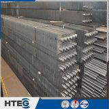 Economizzatore del tubo di aletta degli elementi riscaldanti della caldaia H