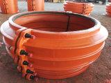 Morsetto H800, accoppiamento di riparazione del tubo, manicotto di riparazione del tubo di riparazione del tubo per il tubo del ghisa ed il tubo duttile del ferro, riparazione rapida del tubo della perdita