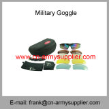 Sports en plein air bon marché en gros de la Chine conduisant des lunettes de l'armée TPU Sunglass