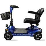 48V 500W más barata de las cuatro ruedas plegables eléctricas Scooter de movilidad para discapacitados con la opción de invertir