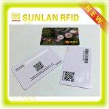 Cartão de RFID com listra da assinatura