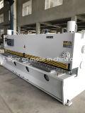 Máquina que pela de la guillotina hidráulica del metal de hoja de QC11y