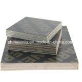 Encofrado de madera contrachapada de impermeable/Película Negra enfrenta el contrachapado para la construcción