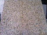 普及した磨かれた黄色い錆ついた石G682の花こう岩の平板