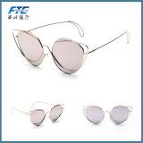Estructura metálica de estilo retro Vintage gafas Gafas de sol Gafas al aire libre ronda