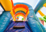 Fairyale Schloss-aufblasbares Prahler-Springen kombiniert für Verkauf CB2901