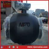 Válvula de esfera totalmente soldada com atuador elétrico