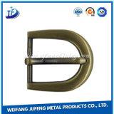 Pasador de aleación de zinc personalizadas hebillas para calzado/vestido/bolsas/correas