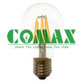 Bulbo do filamento do diodo emissor de luz da luz de bulbo do diodo emissor de luz de A60 5-12W