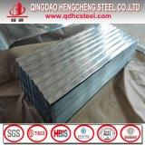 Hoja acanalada galvanizada Sgch del material para techos de JIS G3302