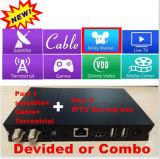 Incroyable Design Mini IPTV / Cable / satellite + récepteur terrestre