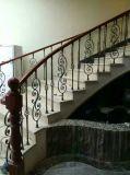 ヨーロッパ式の錬鉄階段手すりの多様な様式