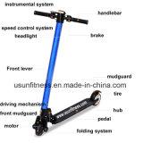E-Vespa plegable al por mayor del Ce de barato 2 ruedas de China
