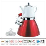 Doppia caldaia del fischio con la caldaia multifunzionale del POT di ceramica del tè