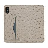 Зерна по разведению страусов PU кожа мобильный телефон для Iphonex бумажника