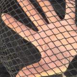 Rete sottoposta agli UV della protezione della grandine di protezione della grandine del frutteto di colore nero