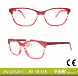 Diseñador de Moda Gafas gafas Gafas de Marcos Marcos (325-C).