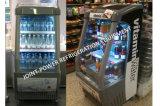 De commerciële Showcase van de Diepvriezer, de Koelkast van de Frisdrank, de Koeler van de Drank