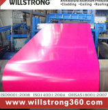 Bobina di alluminio preverniciata con i vari reticoli di colore