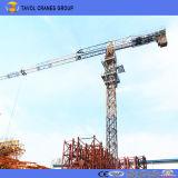 Fabricante chinês do guindaste de torre dos jogos da parte superior da construção de edifício do ISO do Ce de Qtz125-6015 10t