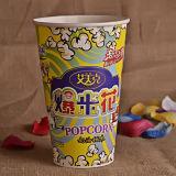 32oz, 46oz, 64oz, Wegwerfpapiercup des popcorn-85oz