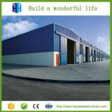 Solución estructural de acero galvanizada edificio prefabricado del almacén de la estructura de acero