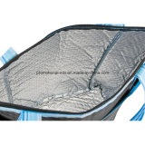 Striped Nonwoven сумки Tote охладителя для промотирования