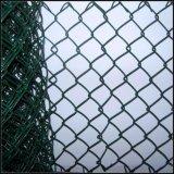Omheining van de Tuin van het Netwerk van de Draad van de Veiligheid van de Link van de ketting de pvc Met een laag bedekte
