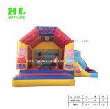 Шлямбур дома прыжока малышей оживлённого скольжения замока раздувной