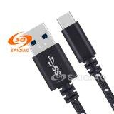 3.0type-c Gevlechte het Laden USB Kabel (5GB)