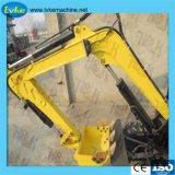 La construcción de maquinaria pesada de la máquina excavadora de cadenas de los precios miniexcavadora hidráulica