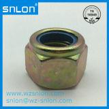 DIN985 Aço Contraporcas de inserto de nylon