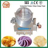 기계 산업 감자 칩 깊은 프라이팬을 튀기는 상업적인 간식
