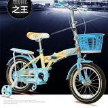 Form-scherzt die heißen Verkaufs-Kinder, die Fahrrad falten, Fahrrad