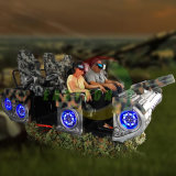 Meest Verbazende Virtuele Ervaring 6 van de Werkelijkheid Kiddie het Ontspruiten van de Tank van Vr van Stoelen 9d het Rennen de Machine van het Spel van de Arcade van het Vermaak van de Simulator