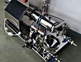 Macchina media orizzontale del laminatoio del laboratorio