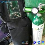 Cga870/Cga540 벨브를 가진 휴대용 산소 실린더 알루미늄 의학 휴대용 산소 실린더