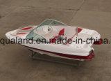 Barco dos esportes da fibra de vidro de China Aqualand 17feet 5.2m/velocidade Bowrider/pesca de esportes/barco de motor (170)