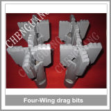 Best Selling Four Wings Drag PDC Drill Bits para Soft Rock Drilling