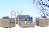 Landwirtschaftliches im Freienrattan-Freizeit-Patio-Sofa mit Kissen